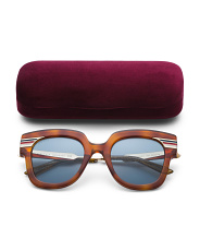Made In Italy 50mm Retro Designer Sunglasses With Case