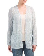 Duster Beach Cardigan With Pockets