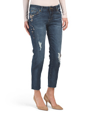 Catherine Straight Leg Ankle Jeans