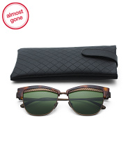 Made In Japan Designer Clubmaster Sunglasses With Case