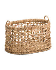 Large Oval Woven Basket