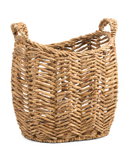 Small Natural Oval Basket