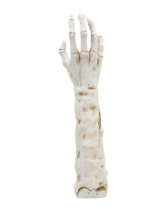 25.5in Resin Mummy Hand And Stake Decor
