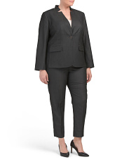 Plus Novelty Pantsuit