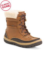 Insulated Waterproof Full Grain Leather Comfort Boots