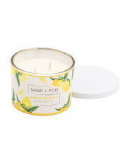 12oz Lemon Verbena 2 Wick Candle