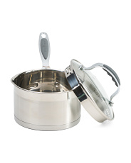 1.75qt. Stainless Steel Stature Sauce Pan
