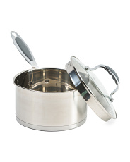 3.5qt. Stainless Steel Stature Sauce Pan
