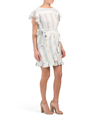Gauze Stripe Dress