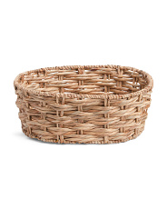 Large Oval Twisted Basket