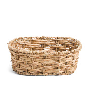 Small Oval Twisted Basket