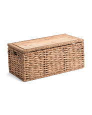 Medium Natural Twist Trunk With Wood Lid