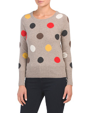 Cashmere Dot Sweater