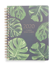 Monstera Palms 2020 Planner With Dividers