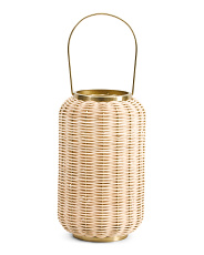 Indoor Outdoor Rattan Lantern