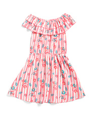 Big Girls Double Ruffle Dress