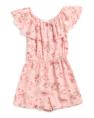 Big Girls Senorita Romper