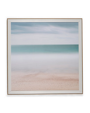 30x30 Beach Sea Sky Wall Art