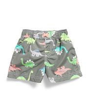 Infant Boys Dino Swim Trunks