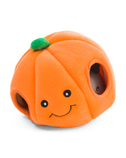 Pumpkin Burrow Dog Toy