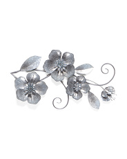 Metal Floral Wall Decor
