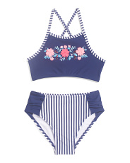 Toddler & Little Girls 2pc Nautical Swimsuit