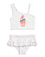 Infant Girls 2pc Ice Cream Swimsuit