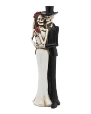 15in Resin Skeleton Couple