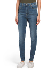 Mile High Super Skinny Indigo Lounge Jeans
