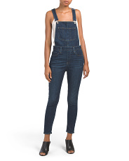 Skinny Over And Out Overalls