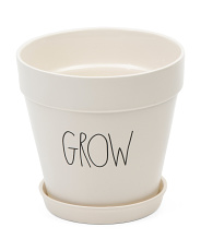 Grow Ceramic Planter