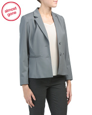 Petite Stretch Wool Ronnie Jacket