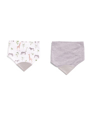 Baby Boys 2pk Teething Bibs