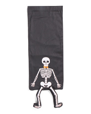 Dangle Leg Skeleton Table Runner