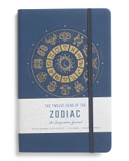 The Twelve Signs Of The Zodiac Inspirational Journal