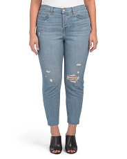 Plus Wedgie Skinny Blue Spice Jeans
