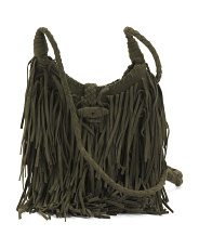 Saddle Fringe Shoulder Bag