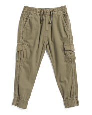 Little Boys Cargo Joggers