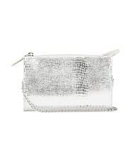 Hannah Metallic Crossbody Bag