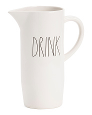 Angled Bottom Drink Pitcher