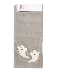 French Knot Ghosts Wool Blend  Runner