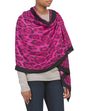 Leopard Wrap With Border