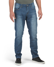 Stretch Slim Straight Fit Jeans