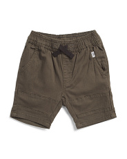 Toddler Boys Stretch Twill Shorts