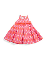Baby Girls Gypsy Ikat Dress