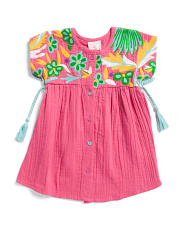 Baby Girls Side Tie Aasha Dress