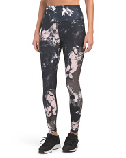 High Waist Marble Splash Leggings