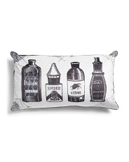 14x24 Velvet Deadly Potions Pillow
