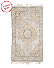3x5 Printed Medallion Scatter Rug
