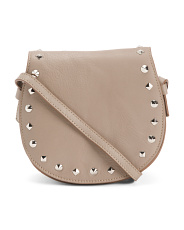 Multi Compartment Leather Crossbody